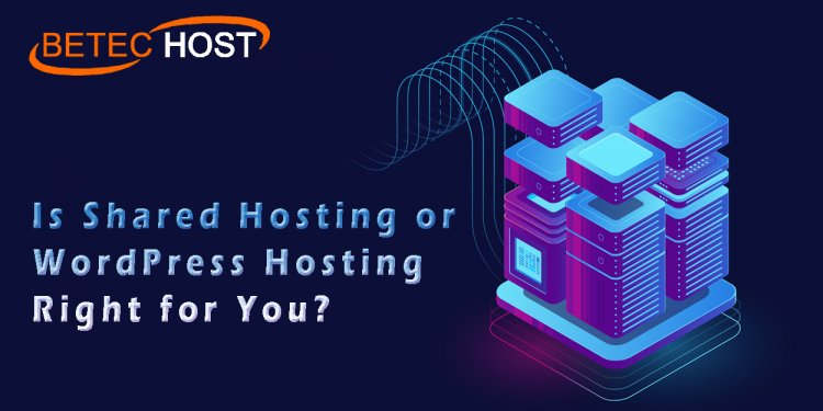 Is Shared Hosting Or Wordpress Hosting Right For You?