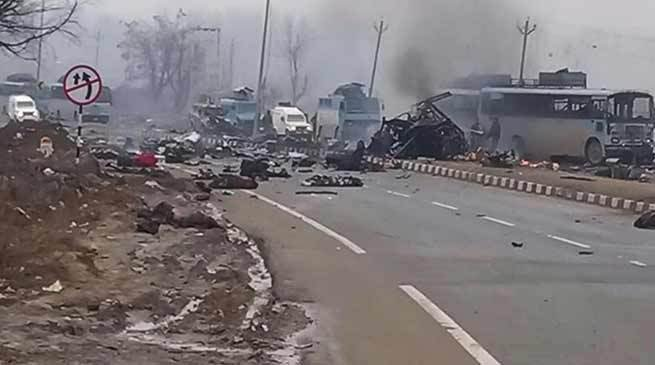 Suicide Bomber Kills 45 Troops In Jammu And Kashmir