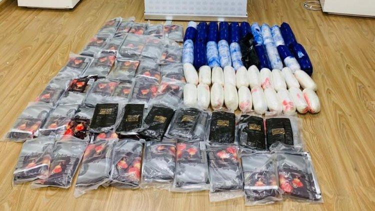 Dogs Help In Dh47.5 Million Dubai Drugs Bust