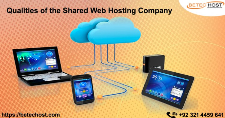 Qualities Of The Shared Web Hosting Company