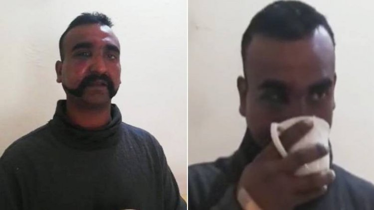 Captured' Indian Pilot Thanks Pakistan Army For Hospitality, Tea In New Video