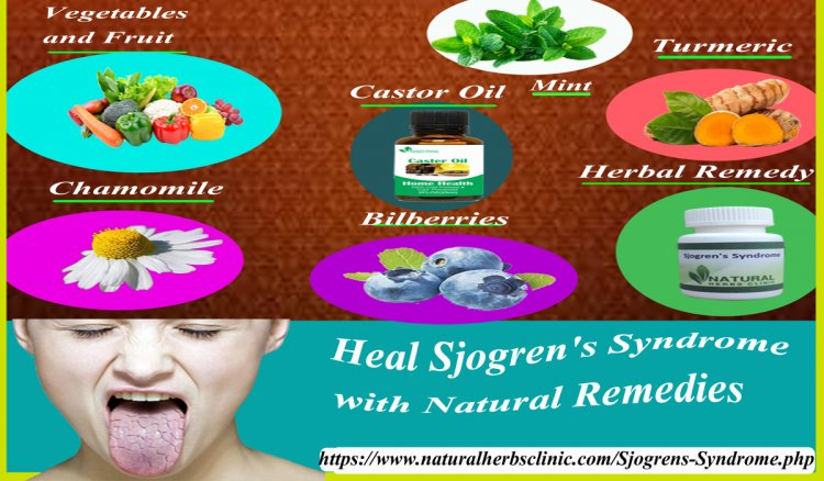 How Can Healed Sjogren's Syndrome with Natural Remedies