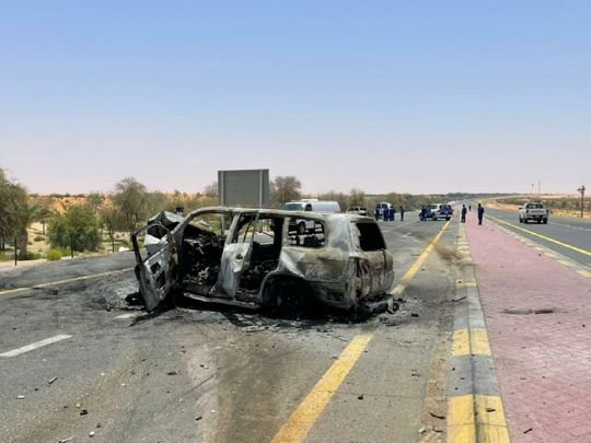 UAE: Five killed in vehicle collision in Abu Dhabi