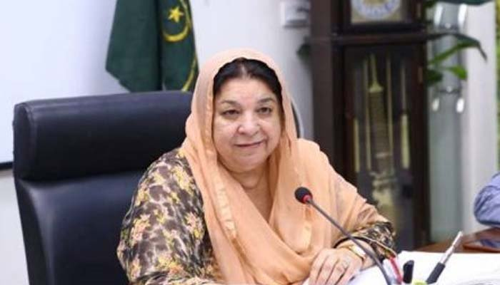 Number of corona patients in hospitals decreased a bit: Yasmeen Rashid