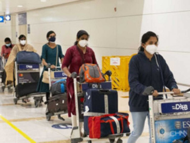 India-Dubai travel: 95 healthcare workers arrive on special flight