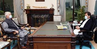 PUNJAB GOVERNOR, CHIEF MINISTER CALL ON PM IMRAN KHAN ISLAMABAD:
