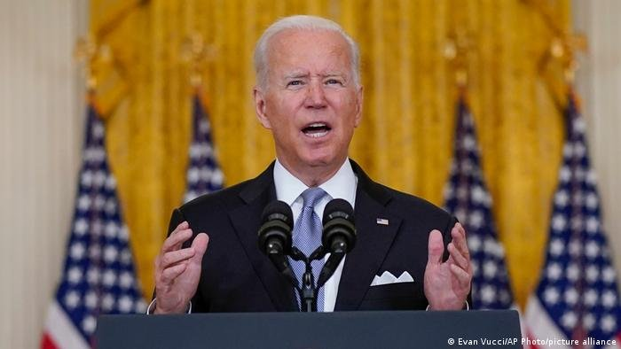Biden: 'I stand squarely behind' US pullout from Afghanistan